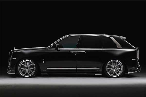 Want A Gangster SUV? Check This Rolls Royce Cullinan Black Bison