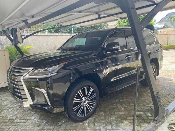 Bulletproof Lexus LX 570 SUV for sale in nigeria-autojosh