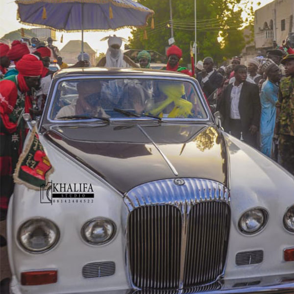 Checkout The Daimler DS420 Landaulette Owned By Emir Of Kano, Alhaji Aminu Ado Bayero
