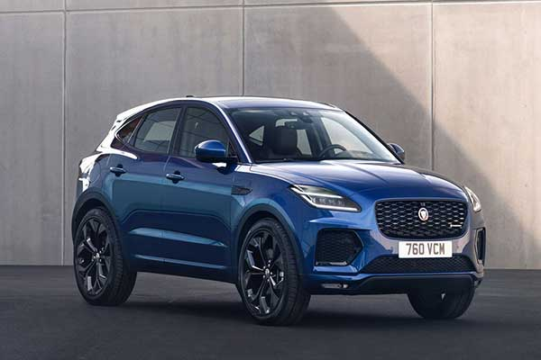 Jaguar Refreshes Its E-Pace Small Luxury SUV For 2021