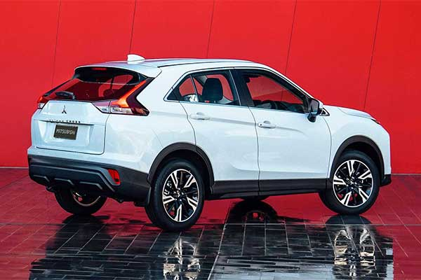 Mitsubishi Refreshes The Eclipse Cross Crossover For 2021