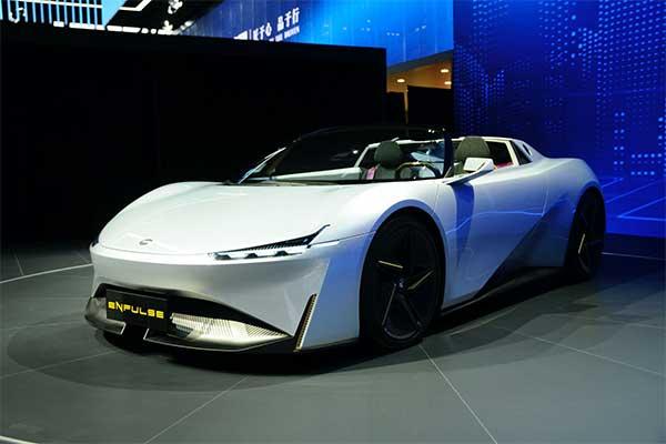 Gac Enpulse Concept Electric Sports Car Aims At Tesla Roadster