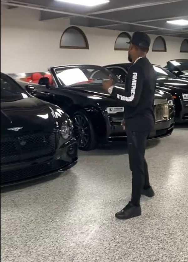 floyd mayweather flaunts all-black luxury cars-autojosh