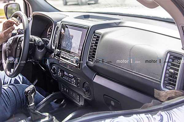 2021 Nissan Frontier Pickup Seen Completely Undisguised