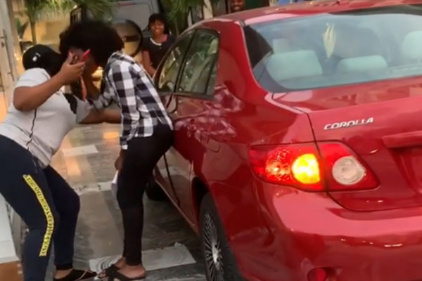 Excitement As Luxury Hair Businesswoman, Mizwanneka Gifts A Toyota Corolla To Her Staff (VIDEO)
