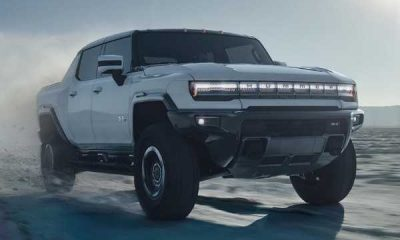 GMC Reveals 350-Mile Hummer Electric Pickup Truck-autojosh