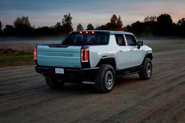 GMC Reveals 350-Mile Hummer Electric Pickup Truck-autojosh