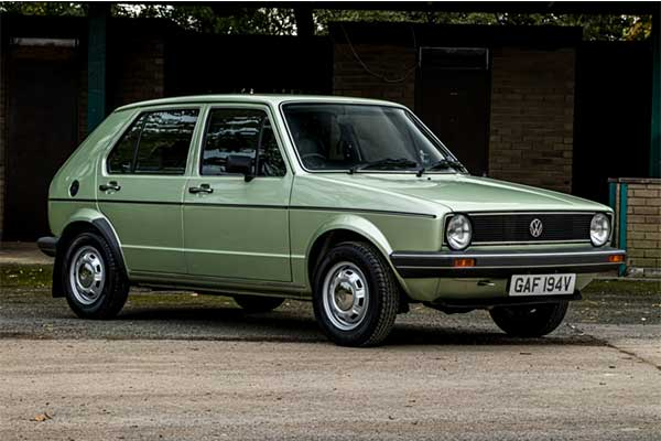 40 Years Old VW Golf MK1 Has Just 735 Miles On The Clock