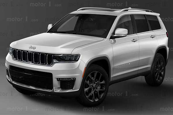 2022 Jeep Grand Cherokee Rendered And It Looks Great