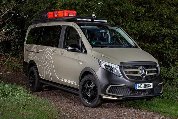 Hartmann Mercedes-Benz V-Class Is An Amazing Camper Van