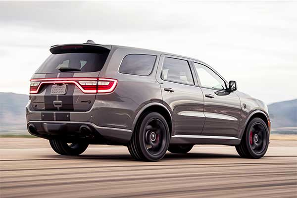 Dodge Durango Hellcat To Be Limited To Just 2000 Units As Production Ends in June This Year