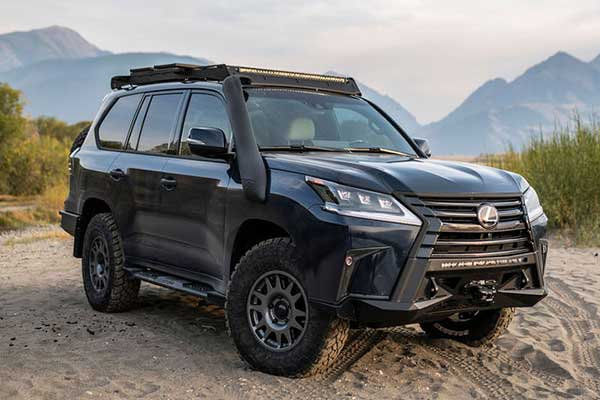 J201 Concept Is A Lexus LX570 With Powerful A 550Hp Engine