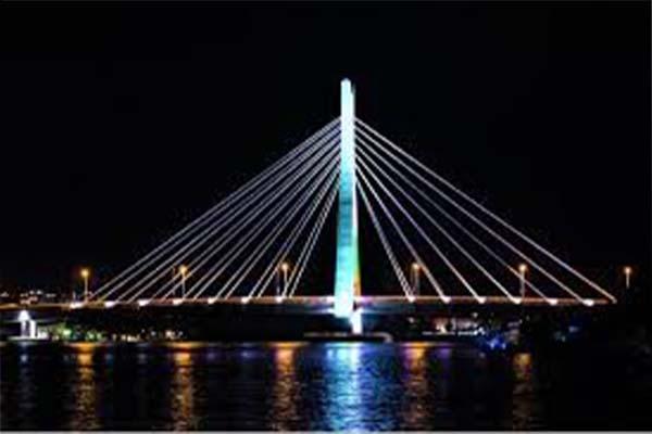 Throwback Photos Of When Lekki-Ikoyi Bridge Was Being Built By Julius Berger