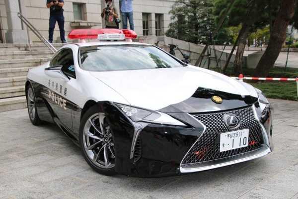 Lexus LC 500 joins japan's police force-autojosh