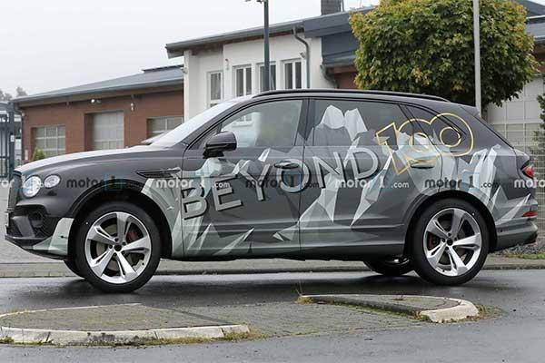 Long WheelBase Bentley Bentayga Teased, Looks Promising