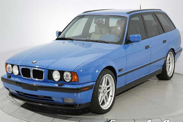 Rare 1995 BMW M5 Touring Cost More Than A 2020 7-Series