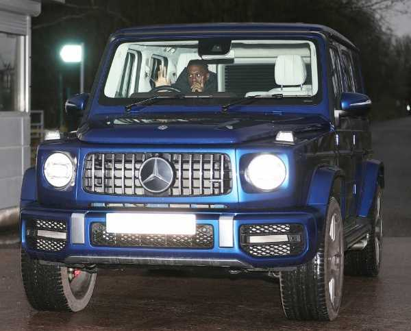 Man Utd Star Aaron Wan-Bissaka fined after being caught speeding at 104mph in his Mercedes G-Wagon -autojosh