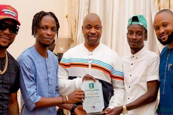 NURTW Boss MC Oluomo Reportely Gifts BBNaija Winner Lycon, N2.5Million