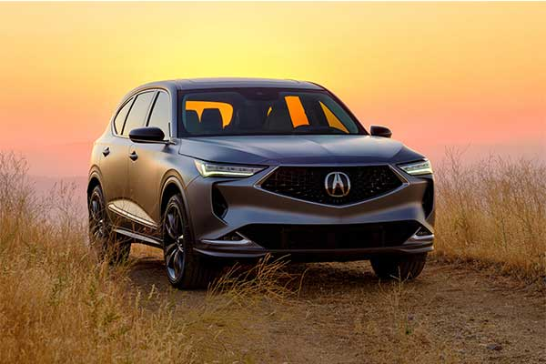 Check Out The 2022 Acura MDX Prototype In All Its Glory