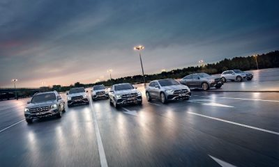 Mercedes-Benz takes seven (7) SUV models to track to show off their strengths-autojosh