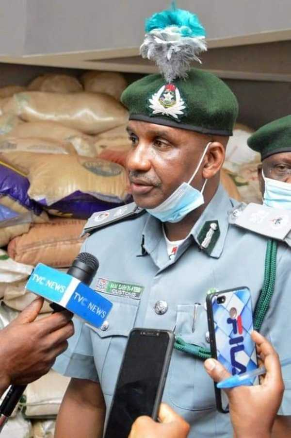 Nigeria Customs Service Federal Operation Unit Zone B Kaduna parades seized smuggled items-autojosh