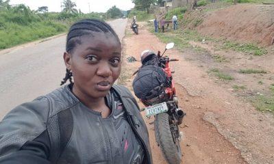 Fehintoluwa Okegbenle - Nigerian female biker