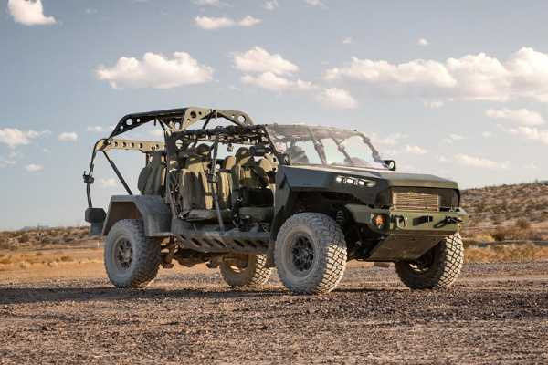 Open-air Military Trucks Based On Chevrolet Colorado ZR2 Joins The Army - autojosh