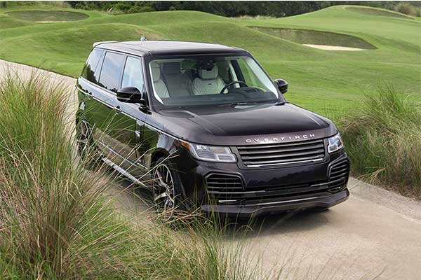 Overfinch's Range Rover Tuned To Take On The Cullinan