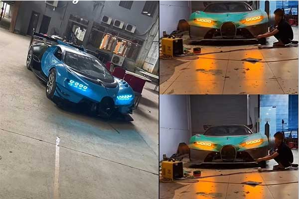 Check This Bugatti Replica Built In Someone's Garage