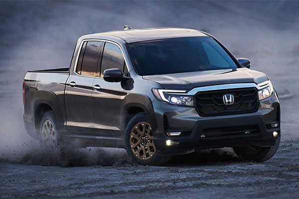 Honda Upgrades Its Ridgeline Pickup For 2021 With A Rugged Look