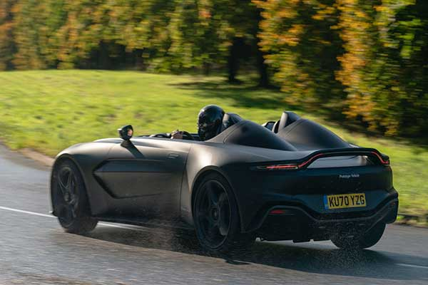 Check Out The Aston Martin V12 Speedster Prototype