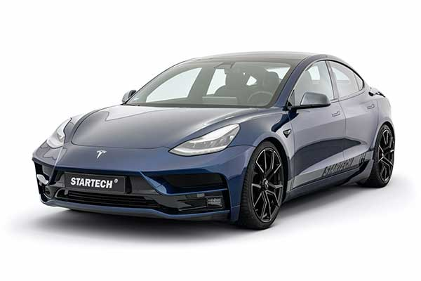 Startech Starts Tuning Tesla Vehicles, Begins With The Model 3