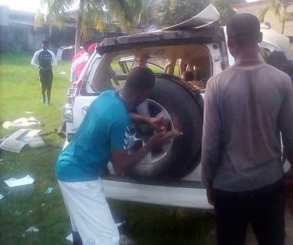vandals attack United Nations (UN) Calabar office, strips down all its vehicles-autojosh