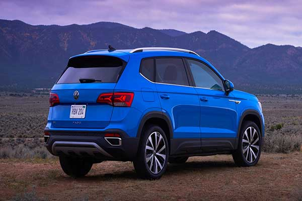 Volkswagen Launches Another Small SUV Called The Taos