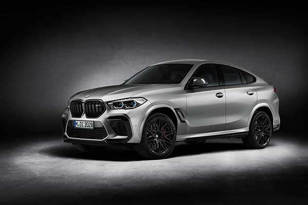 BMW Launches Limited X5 M And X6 M Competition First Edition