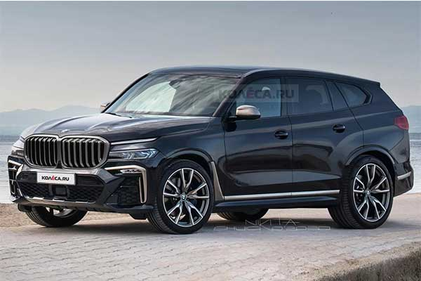 Could This Rendering Be How The BMW X8 Will Look? Hope Not