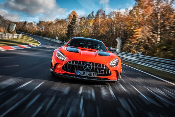 2021 Mercedes-AMG GT Black Series Is Now The Fastest Production Car At Legendary Nurburgring Race Track - autojosh
