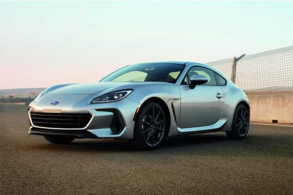 2022 Subaru BRZ Coupe Unveiled With A More Powerful Engine