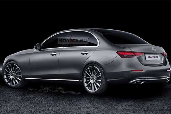 2022 Mercedes-Benz C-Class Rendered And Its A Mini S-Class