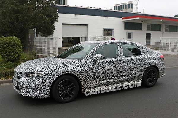 2022 Honda Civic Sedan Spy Shoots Seen, Looks Like A Mini Accord