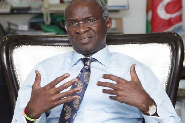 2nd Niger Bridge Will Be Ready for Use In 2022, Babatunde Fashola Assures (PHOTO)