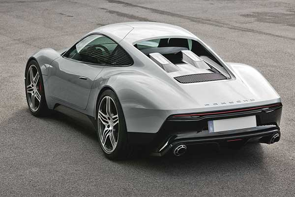 Porsche 904 Was A 2013 Concept Sports Car With A Bike's Engine