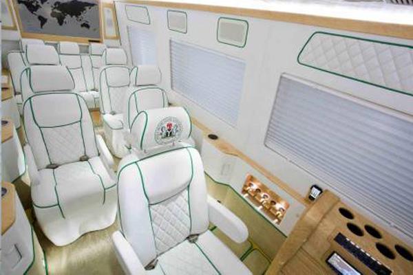 Customized Mercedes-Benz Sprinter VIP Van autojosh