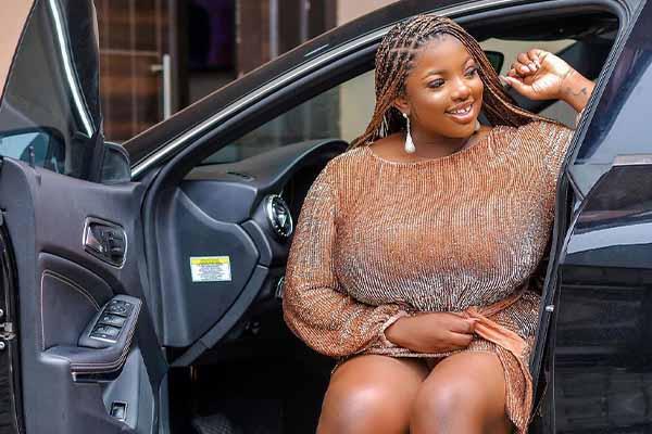 Check Out The Amazing Photos Of BBNaija Star Dorathy Bachor, In Her Mercedes-Benz Car (Photos)-autojosh