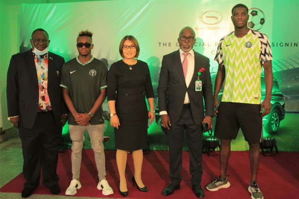 GAC Motors is now the Official Automobile Partner of NFF
