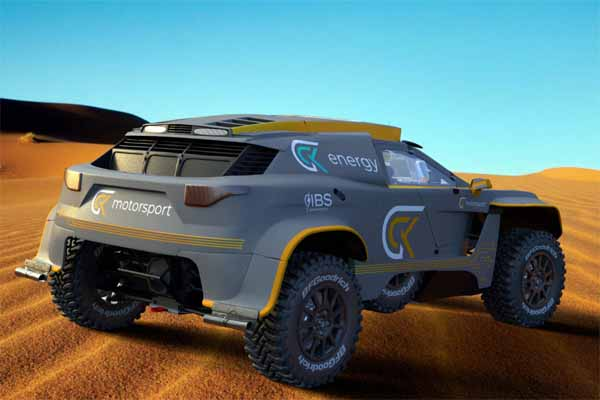 Hydrogen-Powered Cars To Compete In 2024 Dakar Rally