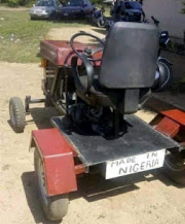 Meet Ismaila Surajo, A Young Nigerian Who Builds Locally Made Tractors, Excavators - autojosh