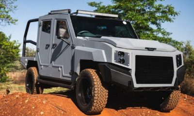 Max 3 : SVI Turns Toyota Land Cruiser 79 Into ₦37.5m Bulletproof Monster To Deal With Terrorism And Conflicts - autojosh