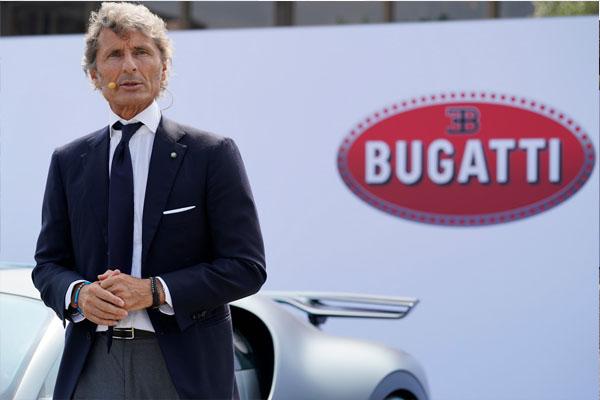 Bugatti CEO Stephan Winkelmann