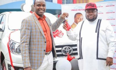 Actor Femi Adebayo Signs Multi-million Naira Deal With Unique Motors, Gets ₦35m Hilux Truck - autojosh